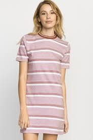 howl striped t shirt dress rvca