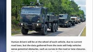 100 Interstate Truck Equipment ALERT US Military Self Driving S On Michigan Next