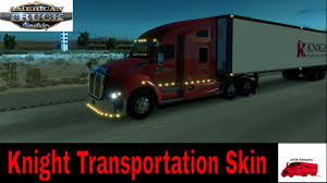 100 American Trucking With A Dry Van Trailer Knight Transportation Skins