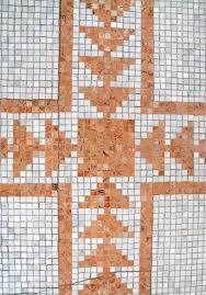 Floor Mosaic Ground Detail