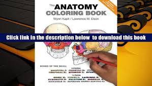 Anatomy Coloring Book Third Edition Pdf The Wynn Kapit Trial Ebook