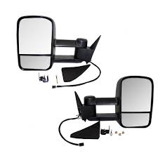 Chevrolet GMC Pickup Truck Blazer Yukon Suburban Tahoe Set Of ... Best Towing Mirrors 2018 Hitch Review Side View Manual Stainless Steel Pair Set For Ford Fseries 19992007 F350 Super Duty Mirror Upgrade How To Replace A 1318 Ram Truck Power Folding Package Infotainmentcom 0809 Hummer H2 Suv Pickup Of 1317 Ram 1500 2500 Passengers Custom Aftermarket Accsories Install Upgraded Tow 2015 Chevy Silverado Lt Youtube