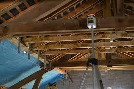 pose rail placo plafond rail placo plafond étage la grange dans la prairie