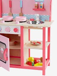 cuisine en bois vertbaudet accessoires de dînette en bois hape multicolore hape