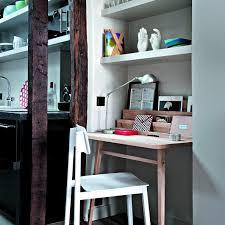 bureau dans le salon bureaus eclectic style and organizing