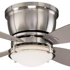 Brookhurst Ceiling Fan Downrod by Clarkston 44 In Indoor Brushed Nickel Ceiling Fan With Light Kit