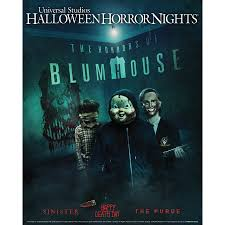 Universal Studios Halloween Haunt Hours by Beginning September 15 U0027the Horrors Of Blumhouse U0027 Takes
