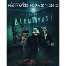 Universal Studios Orlando Halloween Horror by Beginning September 15 U0027the Horrors Of Blumhouse U0027 Takes