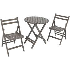 Sunnydaze Decor 3-Piece Gray Wood Folding Outdoor Patio Bistro Set ... Set Of Six Italian Iron Leather Folding Chairs Circa 1950 Fniture Pair Wood Inessa Stewarts Antiques Millwards Wooden Chair Anthology Vintage Hire Worldantiquenet Old And Danish Made Iron Wood Garden Folding Chair Manssartoux Stock Robinia Spring Outdoor In Fiam Amazoncom Biscottini 2 Antique Handicrafts Directors Style With Frame Sturdy French And Vinterior Antique French Folding Chair Bi3 Portable Seating Multipurpose For