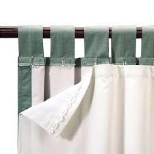 roc lon blackout energy efficient curtain panel liner clips onto
