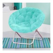 mainstays faux fur saucer chair multiple colors actualcolor