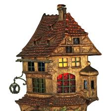 Lemax Halloween Houses 2015 by Bergman Cold Painted Bronze And Stained Glass Table Lamp Medieval