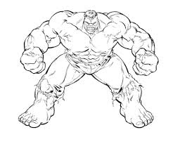 Hulk Cartoon Pics Coloring Pages