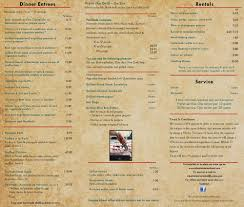 El Patio Fremont Drink Menu by Patio Catering Menu Home Design Ideas And Pictures