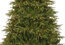 7ft Pre Lit Christmas Tree Asda by Realistic Artificial Christmas Trees Uk Christmas Lights Decoration