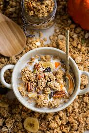 Pumpkin Flaxseed Granola Nutrition by Pumpkin Granola Clusters Life Made Sweeter