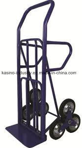 China Stair Climbing Hand Trolley/Hand Truck Ht4028 With Folding Toe ...