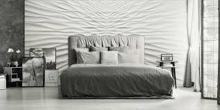 schlafzimmer wandgestaltung 3d wandpaneele wandverkleidung