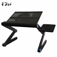 Adjustable Portable Laptop Table Stand Lap Sofa Bed Tray puter