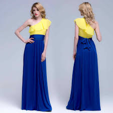 blue maxi dress collection