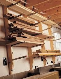 vertical lumber storage workshop pinterest lumber storage