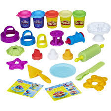 Play Doh Kitchen Creations Frost n Fun Cakes Walmart