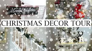 Sams Club Christmas Trees 12 Ft by Christmas Decor Tour 2016 Erica Lee Youtube