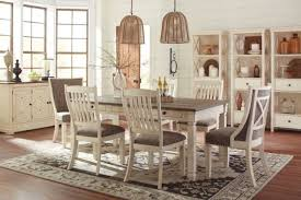 Ashley Furniture Farmhouse Table Bolanburg 7 Piece Dining Set D647 And Hutch