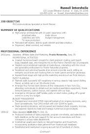Communication Skills Resume To Put On Resumes Communications Director Example Template Major
