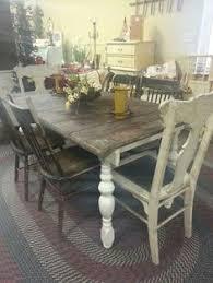 Love This Primitive Rustic Farmhouse Table