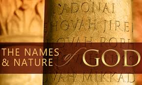The Names And Nature Of God