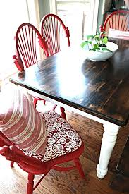 Painted Kitchen Tables Kitchen Chairs Painted Kitchen Table And