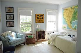 Simple Boys Room Decor Bedroom Ideas Painting Repurposing Upcycling Wall