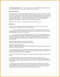 Resume For Manager Position Unique New Outstanding Cover Letter