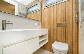 geniale ideen für die wandverkleidung im badezimmer homify