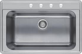 33x22 White Kitchen Sink by Winpro 33