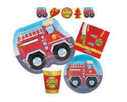 Fireman Fire Truck Childrens Birthday Party Supplies - Red Fire ... Girly Pink Firefighter Party Fire Truck Birthday Ideas Photo 2 Of 27 56 Best Fireman Images On Design With Free Printables How To Nest For Less Firetruck Decorations Pinterest Birthdays And Cake Make A Youtube Balloon 18in City Toddler At In Box Food Labels Place Cards Theme Hs Mom Around Town A Vintage Anders Ruff Custom Designs Llc 43 Elegant Supplies Decoration