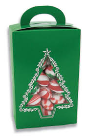 Candy Box 3 Pk 1 2 Lb Vertical Tote Christmas Tree