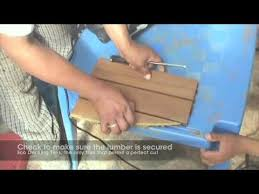 eco decking tiles cutting instruction video youtube