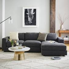urban 2 piece chaise sectional small urban living rooms and