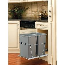 Under Cabinet Trash Can Pull Out by Pull Out Trash Can Cabinet Door Base Cabinet Pull Out Trash Can