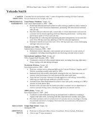 Customer Service Rep Job Description For Resume