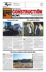 Kent Moore Cabinets San Antonio Texas by San Antonio Construction News November 2015 By Construction News