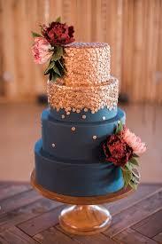 Rustic Elegance With A Bacon Bar Navy Wedding CakesNavy Blue