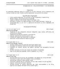 Sample Resume For Medical Billing