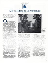 100 Alice Millard Beneciary