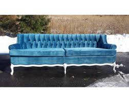 tufted couch etsy