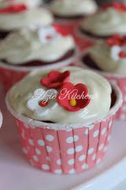 resepi cupcake velvet azie kitchen agustus wx