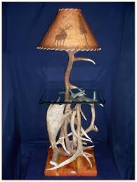 End Table With Attached Lamp by Hobby Lobby Book End Table