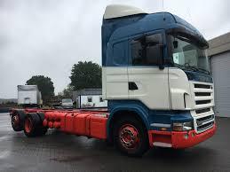 SCANIA R480 HL *4 Manueel+Retarder-Vollucht Chassis Vrachtwagens Te ...